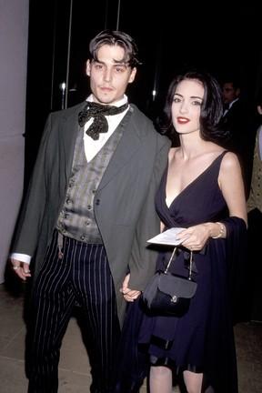 Johnny Depp e Winona Ryder (Foto: Getty Images)
