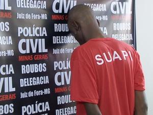 Apresentação Polícia Civil Juiz de Fora (Foto: Reprodução/TV Integração)