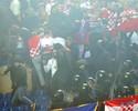 Polícia italiana prende 17 croatas e jogadores se desculpam por incidentes