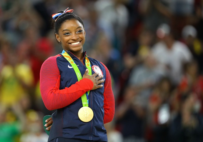 Simone Biles ginástica artística olimpíada rio 2016 (Foto: REUTERS/Mike Blake)