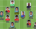 A seleção do primeiro turno da J-League