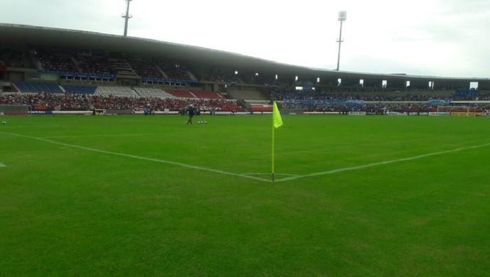 CRB x CSA, no Estádio Rei Pelé (Foto: Denisson Roma/GloboEsporte.com)