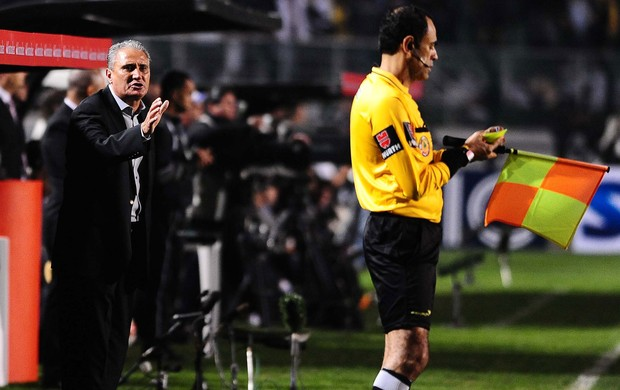 Tite, Corinthians x São Paulo - final Recopa (Foto: Marcos Ribolli)