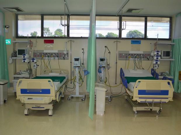 Leitos suavizará superlotação no Pronto Socorro Municipal  (Foto: Geovane Brito/G1)