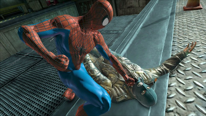 The Amazing Spider-Man tinha minigames pagos no celular (Foto: Divulgação/Activision)