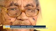 Campanha 'Junho Violeta' alerta para os direitos da pessoa idosa