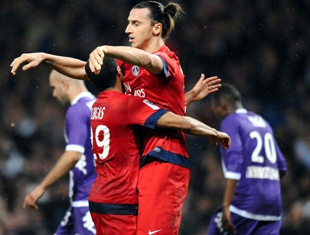 Lucas Ibrahimovic PSG (Foto: AFP)
