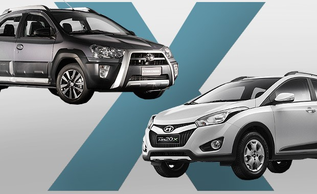 Toyota Etios Cross ou Hyundai HB20X: qual comprar? (Foto: Autoesporte)