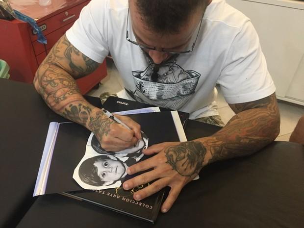 Tatuagem de Antônio, ex-bbb (Foto: Divulgação / Tattoo Campinas / Rafinha Diniz)