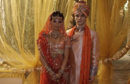 EM 2009, ela foi a Camila de 'Caminho das Índias', uma brasileira que acabava se casando com um indiano, Ravi, interpretado por Caio Blat Isac Luz/ TV Globo