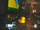 Alckmin e Aécio são hostilizados na chegada à manifestação na Paulista