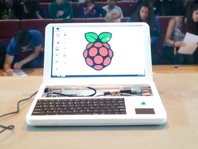 Computador pode ser impresso e montado pelo usuário (foto: Reprodução/Pi-Top)