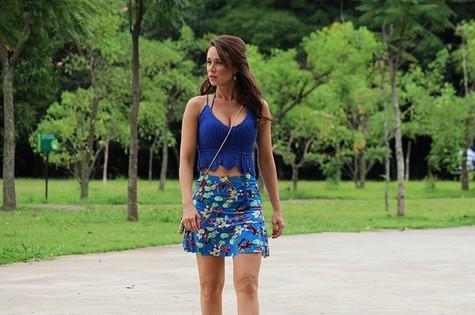 Mariana Ximenes é Tancinha em Haja coração (Foto: Ariane Ducati / Gshow)