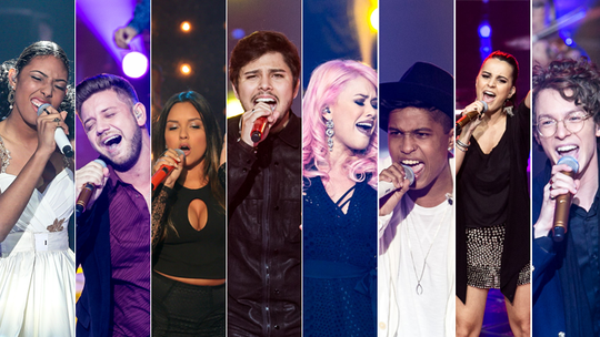Reveja as 10 apresentações mais clicadas dos Shows ao Vivo do 'The Voice'