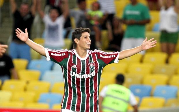 Conca comemoração Fluminense e Resende (Foto: Ricardo Ayres / Photocamera)