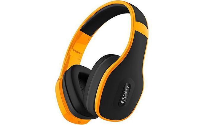 0c0f7c96a28 Fone de ouvido Pulse pode ser usado sem fios via Bluetooth e tem design  confortável (