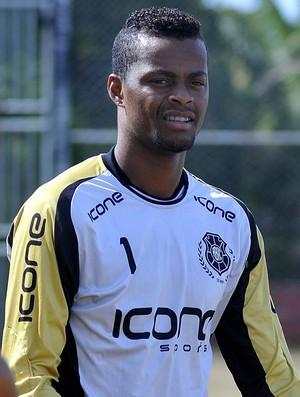 Paulo Vitor, goleiro do Rio Branco-ES (Foto: Carlos Alberto Silva/A Gazeta)