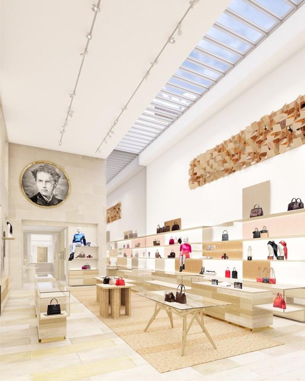 Salão principal da nova loja (Foto: Divulgação)