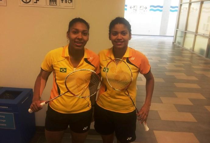 Luana; Lohaynny; Badminton; Jogos Pan-Americanos (Foto: GloboEsporte.com)