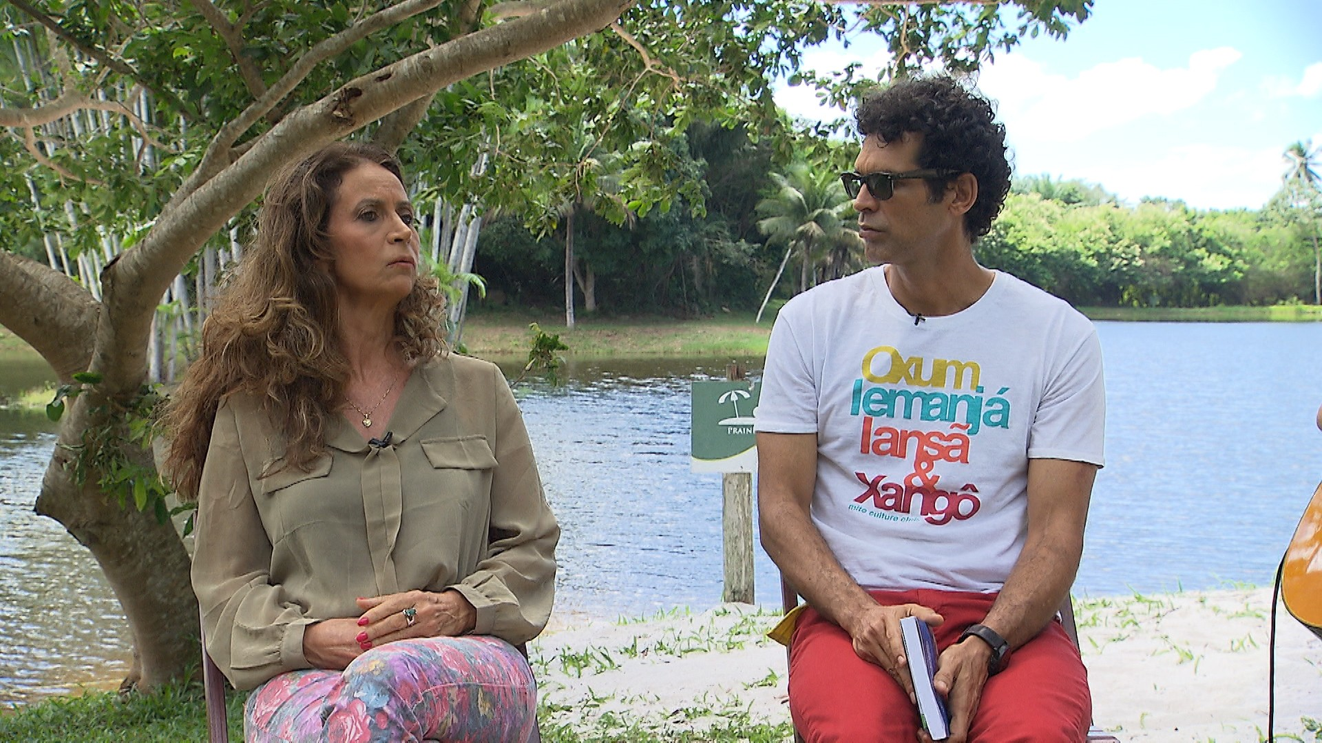 Jackson Costa e Lirandina Gomes (Foto: Divulgação)