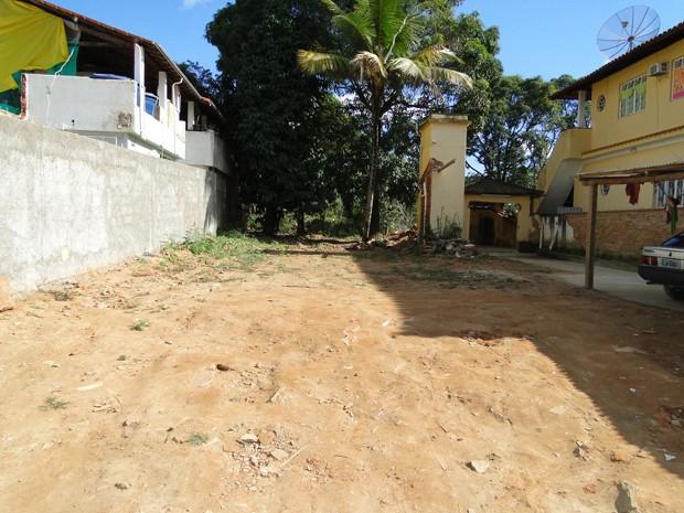 Local foi limpo e imóvel demolido (Foto: Alex Araújo / G1 MG)