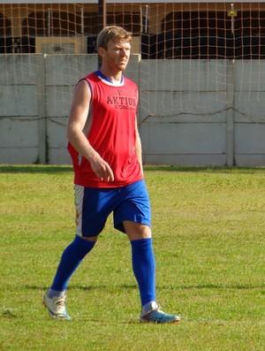 Rudimar se movimentou bem e marcou um gol no coletivo (Foto: Divulgação / Grêmio Prudente)
