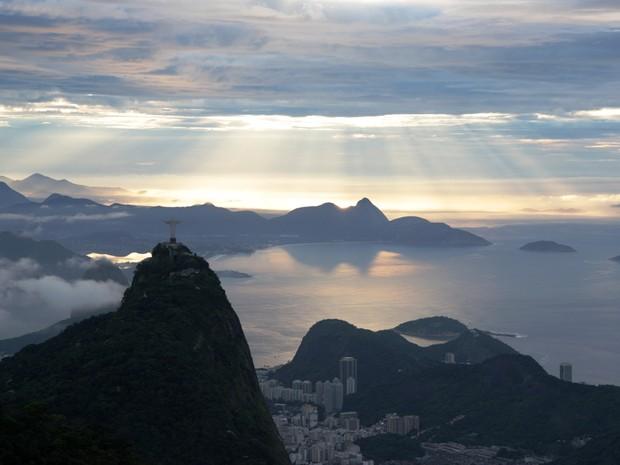 Rio terá céu parcialmente nublado ao longo do dia (Foto: Marcos Teixeira Estrella/ TV Globo)