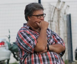 Luís Miguel, técnico do Parnahyba  (Foto: Wenner Tito )