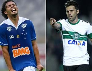 Ricardo Goulart; Lincoln; Cruzeiro; Coritiba (Foto: Globoesporte.com)