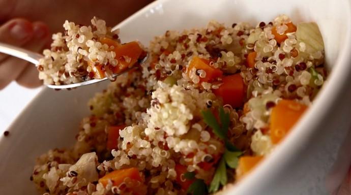 Receita de cuscuz de legumes (Foto: reprodução EPTV)
