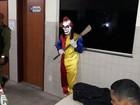 Palhaço assustador é detido pela Polícia Militar no nordeste do Pará