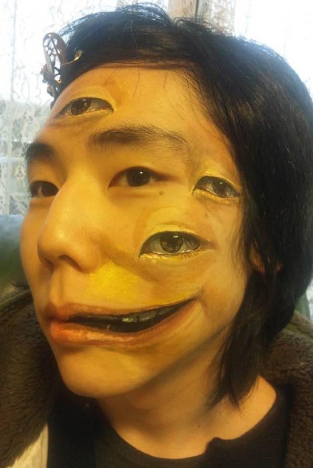 Chooo-san diz não usar photoshop. (Foto: Reprodução)