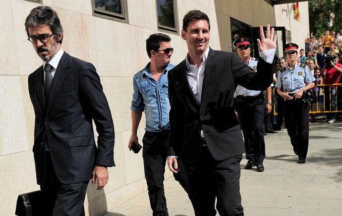 Messi julgamento imposto (Foto: AFP)