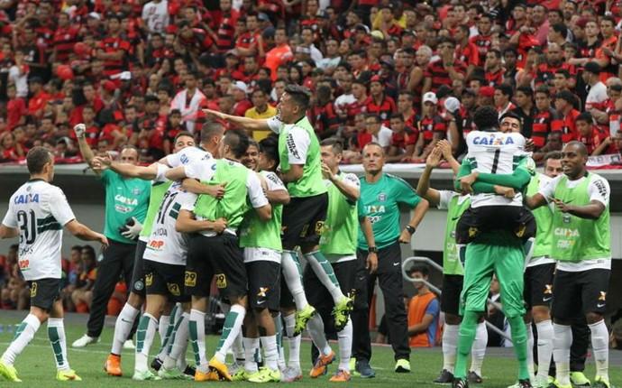 Flamengo Coritiba (Foto: Divulgação/ Coritiba)