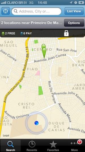Localize os pontos de acesso de internet Wi-Fi através de geolocalização (Foto: Reprodução)