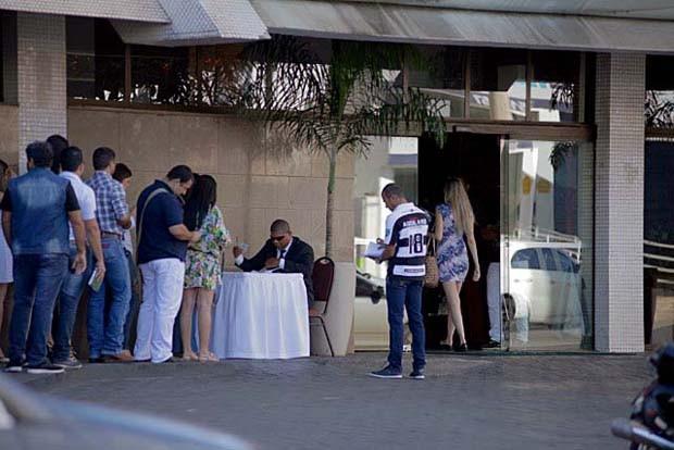 Seletiva BBB16 em Cuiabá movimentou a cidade  (Foto: Gshow)