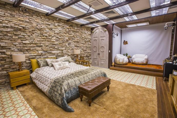 Um próprio quarto de uma própria majestade (Foto: Artur Meninea)