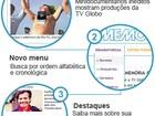 Memória Globo estreia novo site com vídeos inéditos e navegação mais ágil