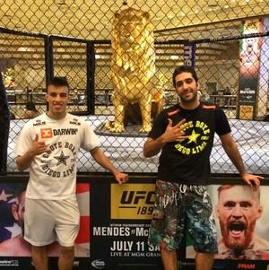 Thomas Almeida e Diego Lima (Foto: Reprodução / Instagram)