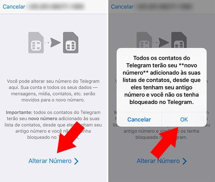 Altere o número cadastrado no app (Foto: Reprodução/Paulo Alves)