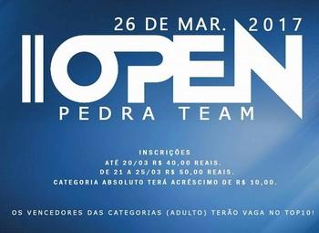 2º Open Pedra Team será disputado no dia 26 de março, em Rio Branco, com local e horário a definir (Foto: Adriano Pedra/divulgação)