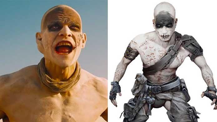Os War Boys do fime e do game de Mad Max (Foto: Reprodução/Felipe Vinha)