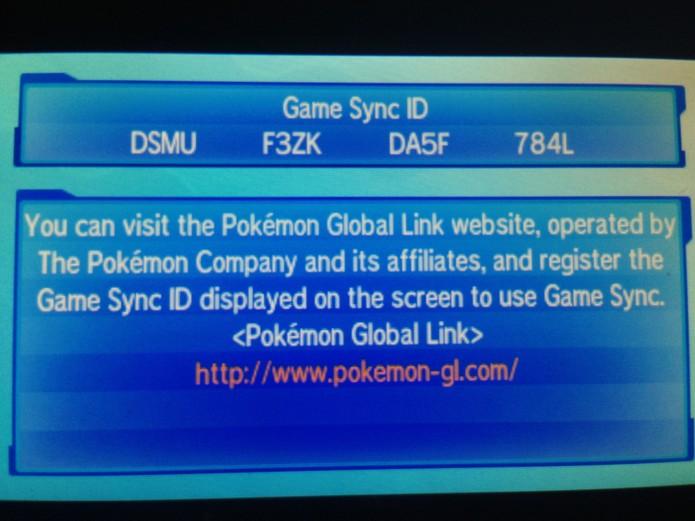 Seu Game Sync será criado, visite o website mostrado (Foto: Reprodução/Felipe Vinha)
