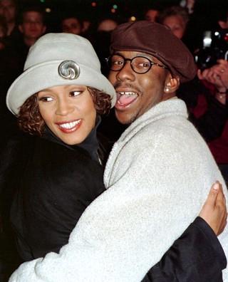 Whitney Houston e Bobby Brown (foto de arquivo) (Foto: Agência Reuters)