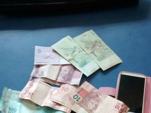 Suspeito roubou carteira de vítima com mais de R$400  (Foto: Alan Souza/ Folha de Vilhena)