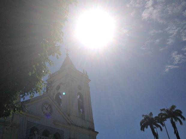 Sol deve prevalecer em todo o estado, diz Sipam (Foto: Vanessa Vasconcelos/G1)