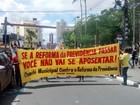 Ato contra reforma da Previdência é realizado em Campina Grande