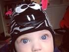 Sheila Mello posta foto divertida da filha com gorro de bichinho