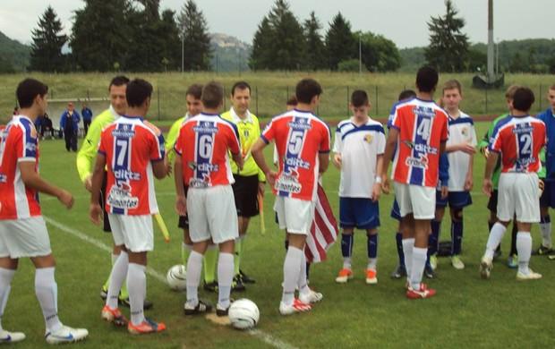 Funorte sub 16 estreou com vitória na Itália (Foto: Divulgação)