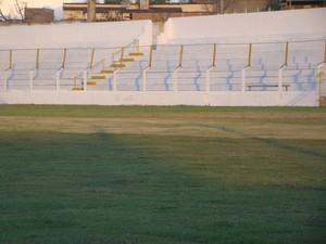 Estádio Joaquim de Brito (Foto: Vital Florêncio / GloboEsporte.com)